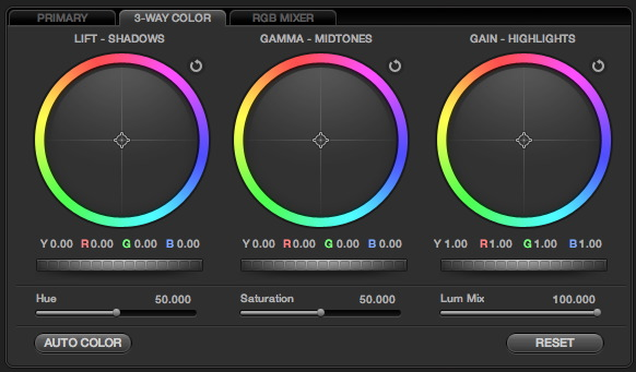 Minimal Color Grading Tools Filmic Worlds